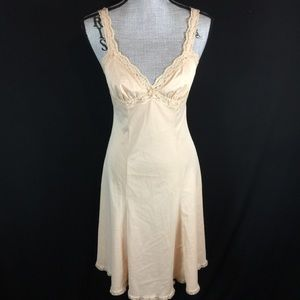Vintage 70s 80s OLGA Slip Chemise Gown S M L